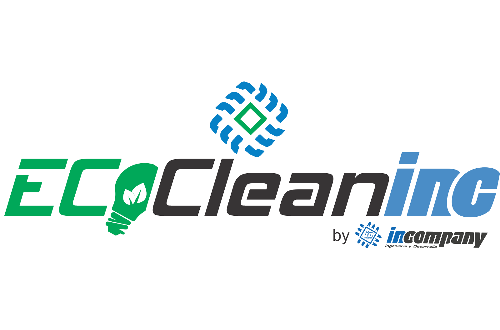 Logo Eco CleanINC by ICN V1.0 230620 X5